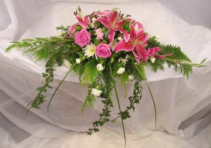 Sapphire flowers wedding florist bridal bouquets - Flowers for table decorations ...